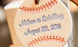 Jennifer and Keith's Baseball Themed Wedding 3