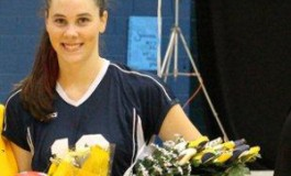 Savanna B. With Volleyball Roses
