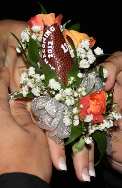 Eastrock Homecoming Football Rose Boutonniere Sports Roses