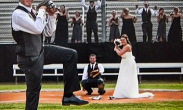 Kasie and Clint's Baseball Wedding