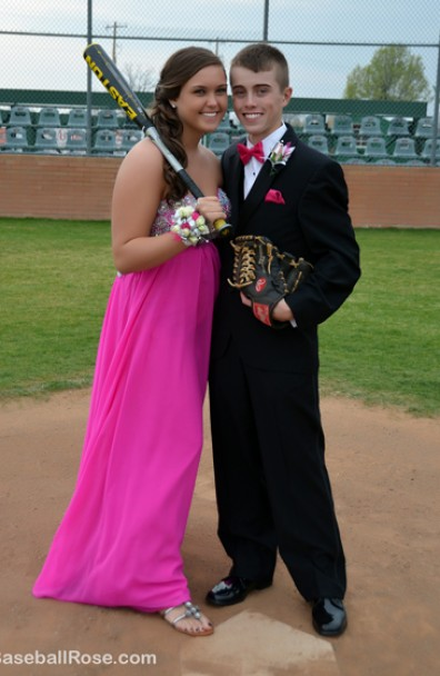 Caleb and Macy's Baseball-Themed Senior Prom