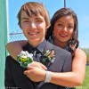 Prom 2015: Irene and Tanner with Sports Roses
