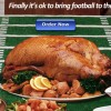 Adding More Football to Your Thanksgiving