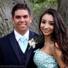 Patrick & Kiana's Prom with Baseball Rose Boutonniere and Corsage