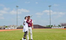 Mother's Day in March Game with Baseball Roses